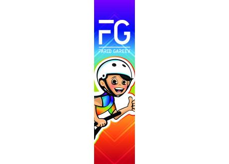 Шкурка FG rainbow