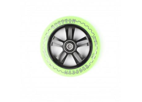Колесо 110 мм AO Mandala  10-Star Зеленый/черный