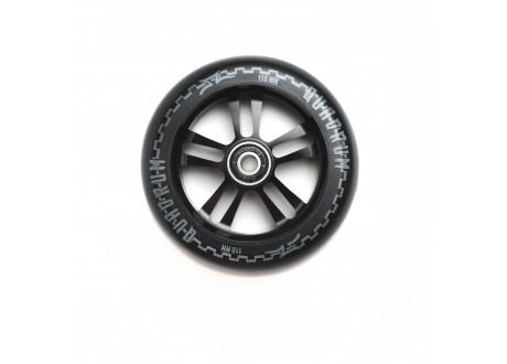 Колесо для самоката 110 мм AO Quadrum  10-Star Черный/Черный