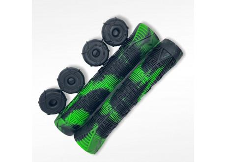 Грипсы для трюкового самоката Blunt V2 Green/Black