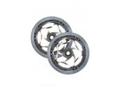 Колесо Blunt Tri Bearing 120x30 мм Clear/Chrome