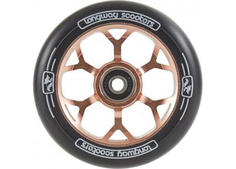 Колеса для трюкового самоката Longway Precinct 110мм pro Scooter Rose Gold