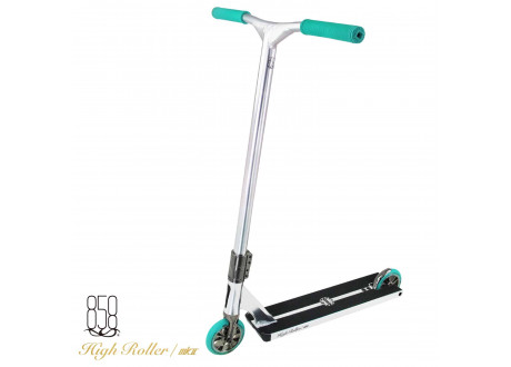 Самокат Ride 858 High Roller Dark Chrome Light Blue