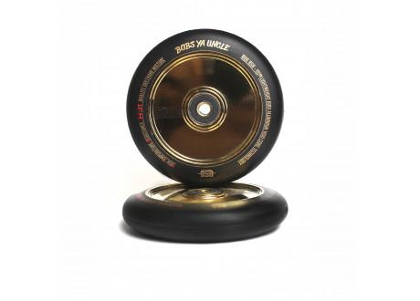 Колеса Ride 858 GR 110 мм черный/золото