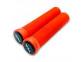 Грипсы для трюквого самоката VLX красные 145 мм с пластиковыми барендами