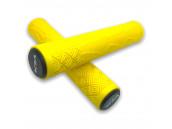 Грипсы для самоката VLX желтые 166 мм с пластиковыми заглушками